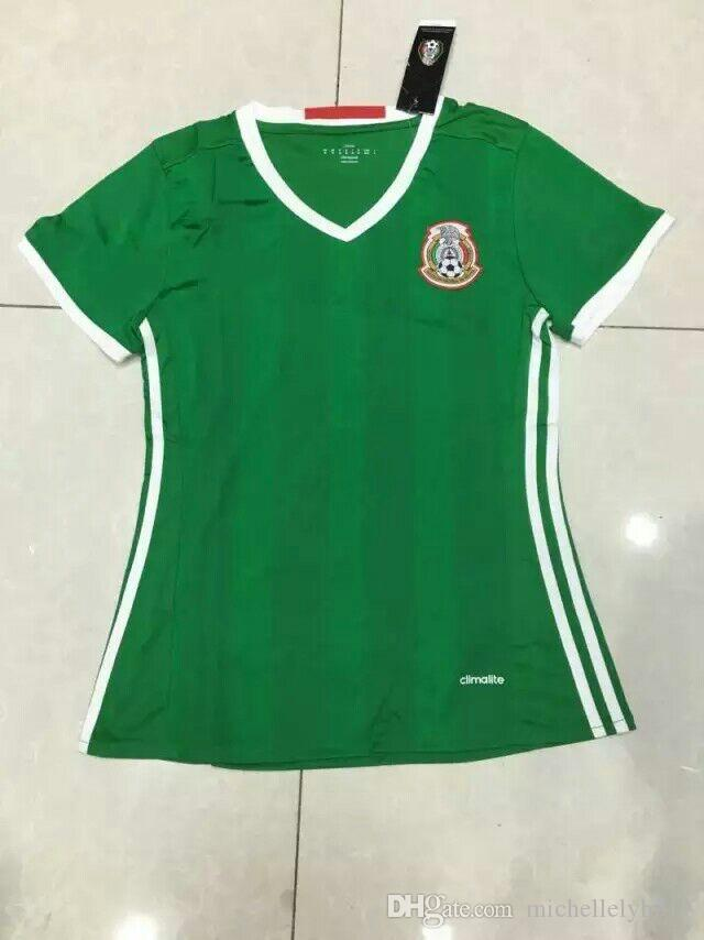 2017 benwon 16 17 mexico home green soccer jerseys women 39 s for Soccer girl problems t shirts