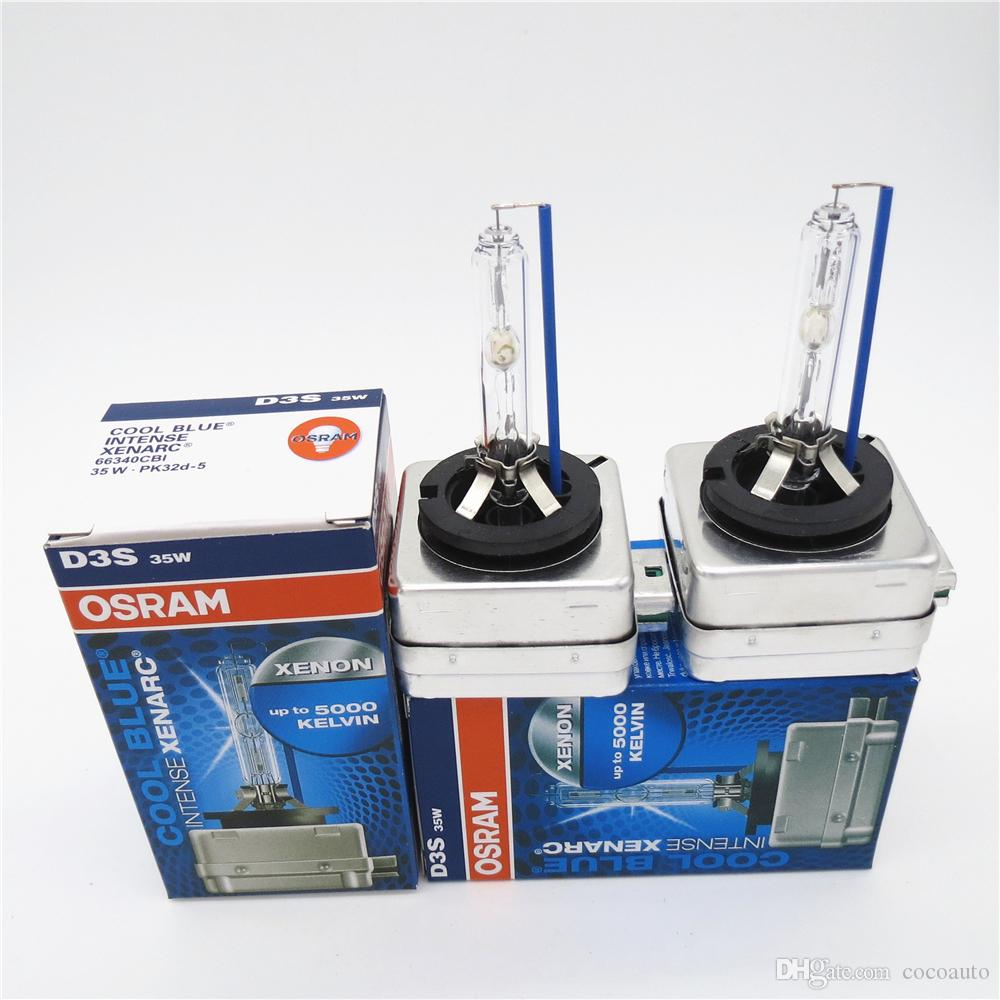 d3s osram intense xenarc hid headlight bulb 5000k 12v 35w. Black Bedroom Furniture Sets. Home Design Ideas