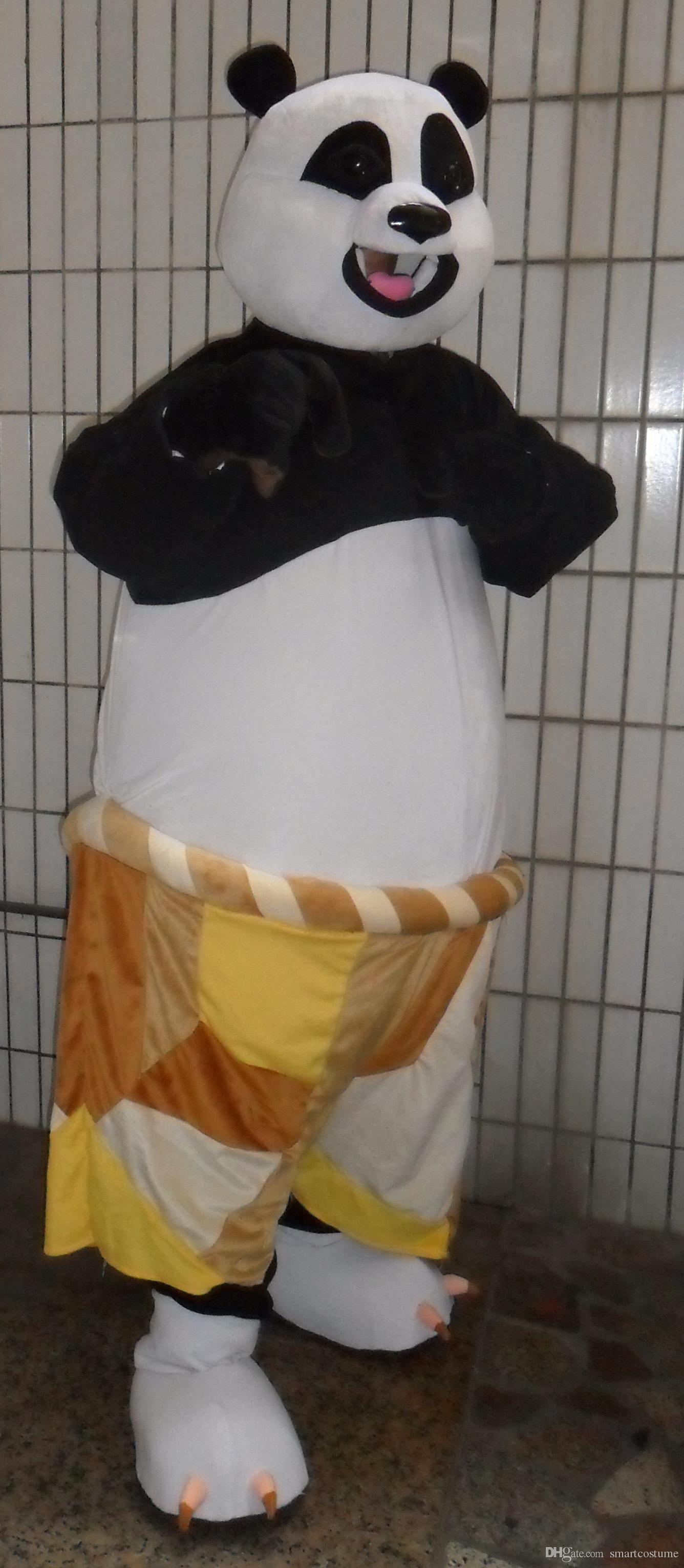 rh0415 kung fu panda halloween costume an adult kung fu panda mascot costume for adult to wear panda mascot costume kung fu panda halloween costume panda - Kung Fu Panda Halloween