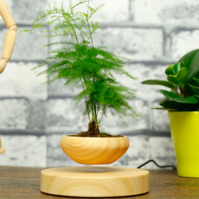 2017 2016 creative floating flower pots magnetic for Floating plant pots