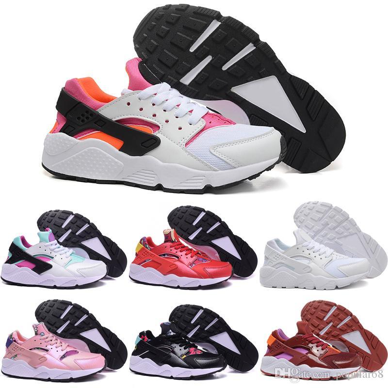 Drop Shipping Running Shoes Women Cheap Air Huarache Sneakers 2016 New Fashion Sports Size 5.5-8