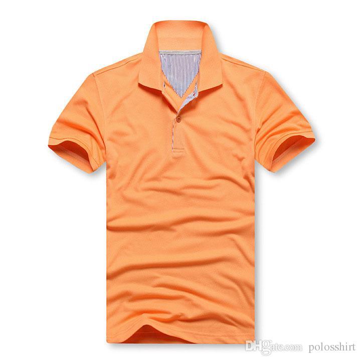 Lot size Polos men's SHIRT MENS polos shirts simplicity Brand men lapel t-shirt 930 Classic solid color T-shirt