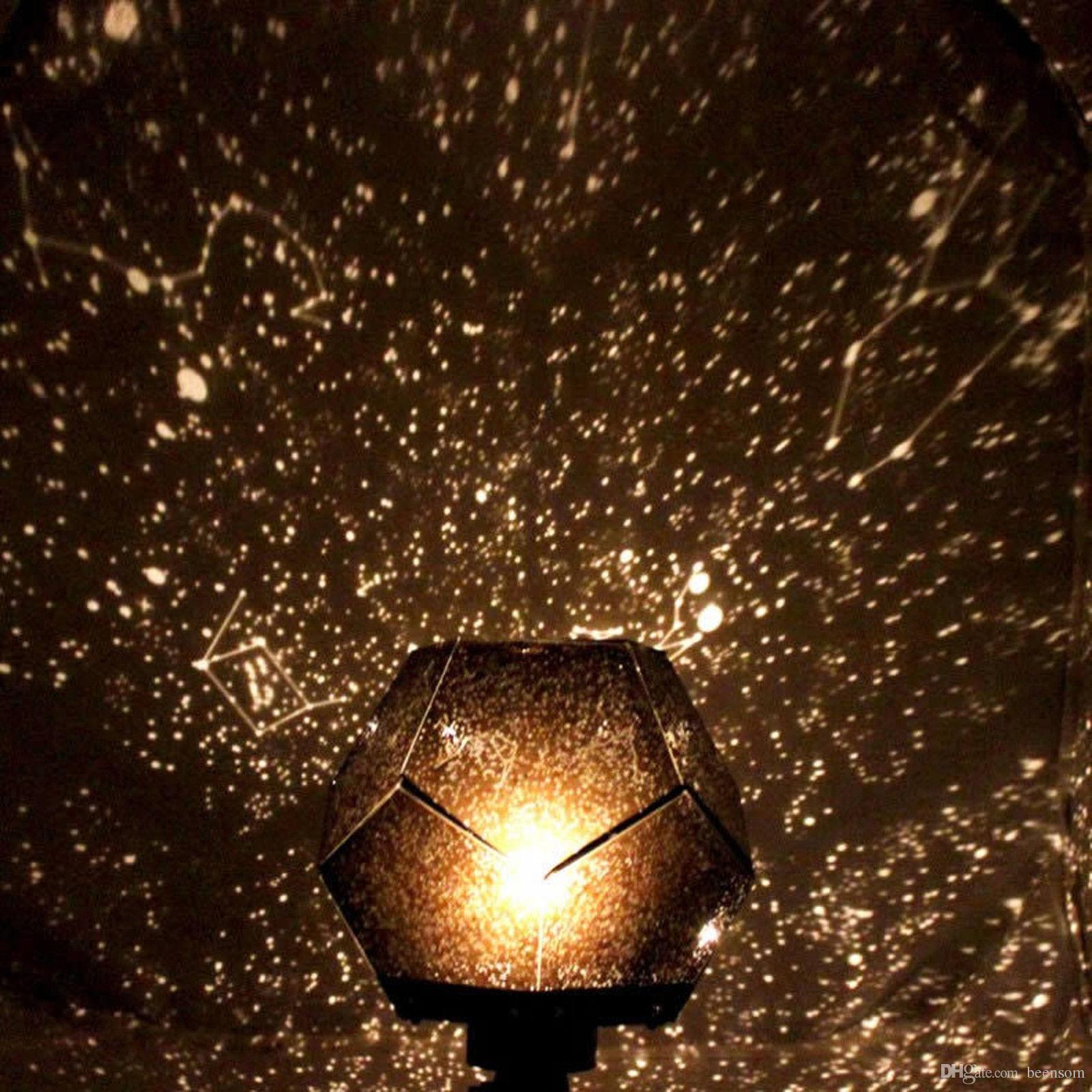 Night light projector lamp - Hot Popular Diy Planetarium Led Night Light Star Celestial Projector Lamp Night Sky Light For Romantic