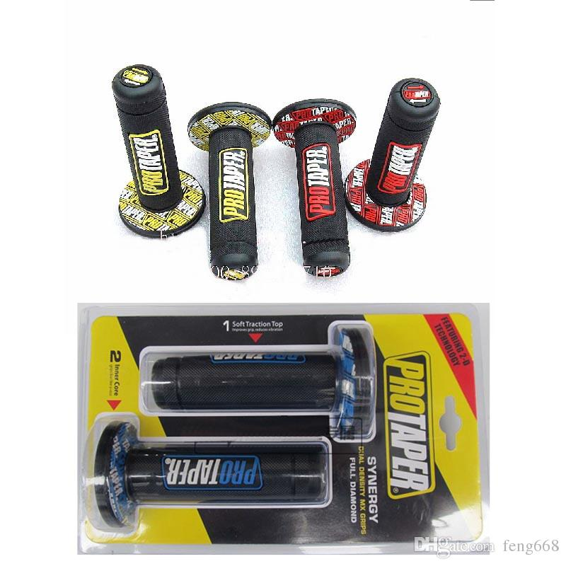 wholesale Modified Motorcycle protaper DIRT PIT BIKE MOTOCROSS 7/8 HANDLEBAR RUBBER GEL HAND GRIPS BAR END brake hands Handle grips 3 color
