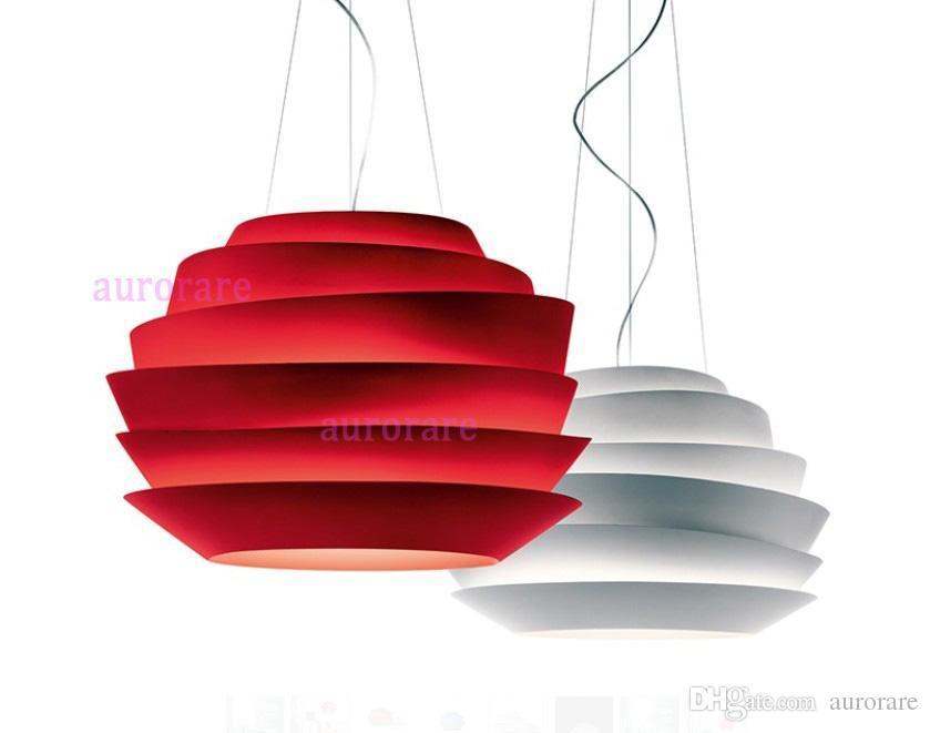 foscarini le soleil wave white rose suspension lamp. Black Bedroom Furniture Sets. Home Design Ideas