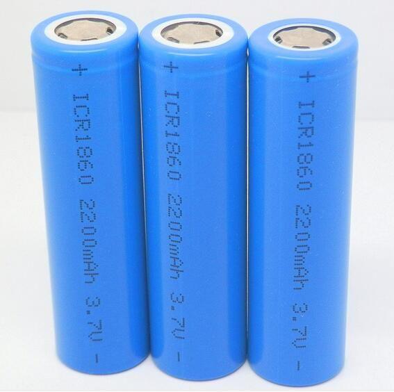 2200mah 18650 Battery Li Ion Rechargeable Battery 2200mah