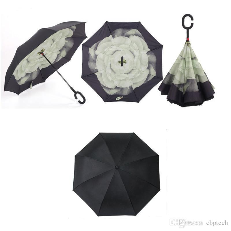Special Design Double Layer Inverted Umbrella Reverse