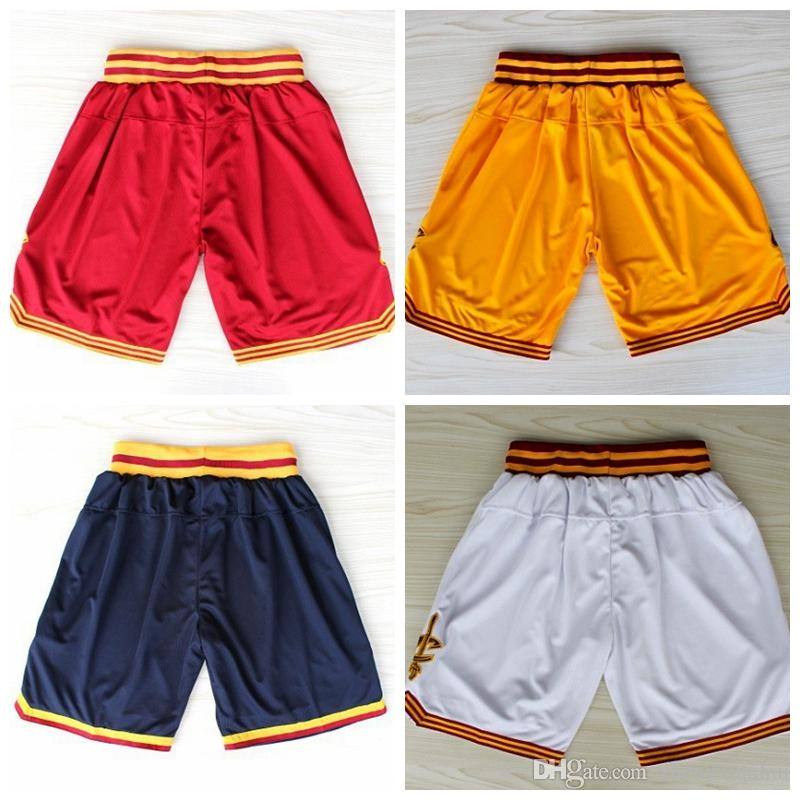 2017 New Material Shorts # 2 Kyrie Irving Shorts # 23 Lebron James Shorts 4 coul