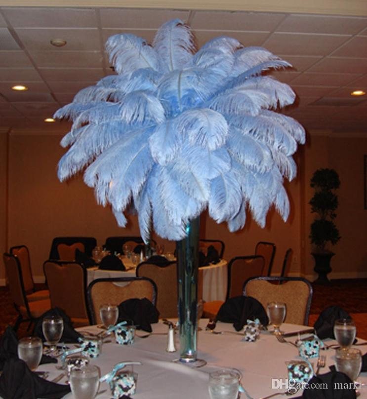 Aaa quality inch white color ostrich feather plume