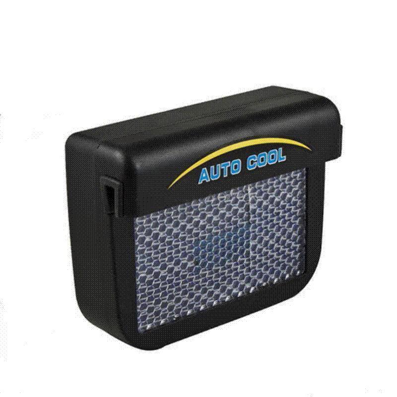 best solar sun power car vehicle auto air vent window cool fan cooler ventilation system. Black Bedroom Furniture Sets. Home Design Ideas