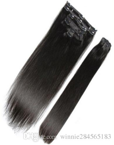 Clip in human hair extensions full head 70g 160g clip in brazilian clip in human hair extensions full head 70g 160g clip in brazilian hair extensions remy human hair clip in clip hair brazilian hair clip in straight online pmusecretfo Choice Image