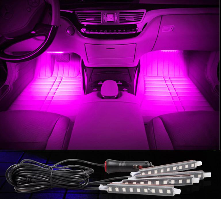 online cheap car decorative atmosphere lamp charge led interior floor decoration light with mini. Black Bedroom Furniture Sets. Home Design Ideas