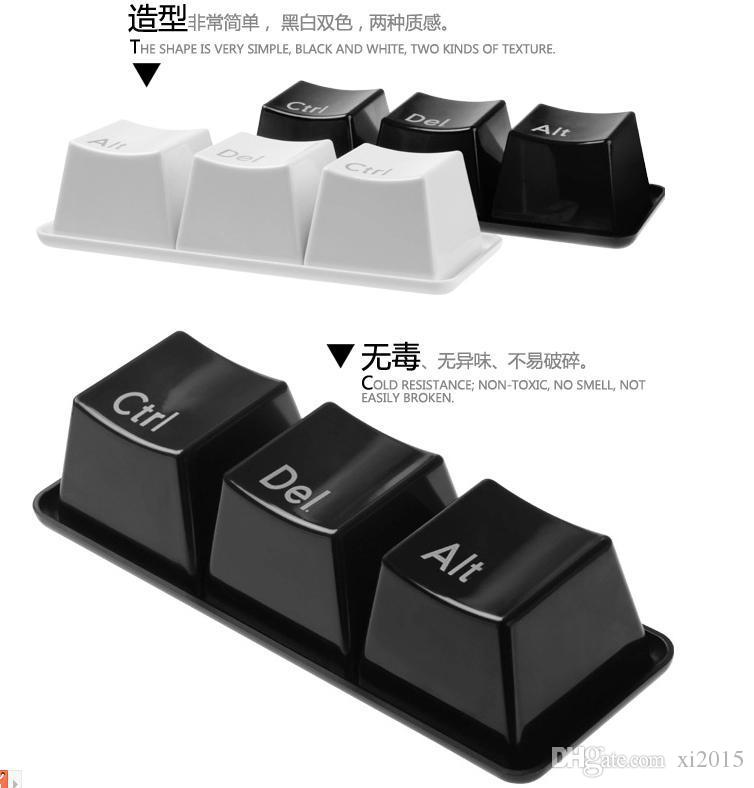 3 X Keyboard Coffee Tea Plastic Mug Cup Home Art