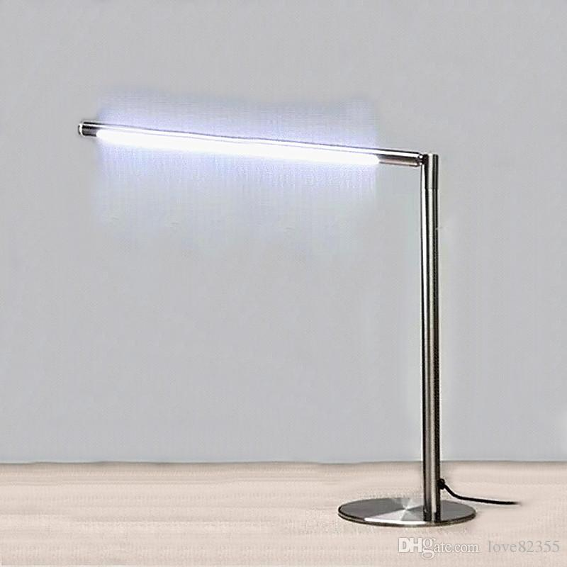 2017 high quality stainless steel led desk lamp learning the desk lamp touch the dimming led. Black Bedroom Furniture Sets. Home Design Ideas