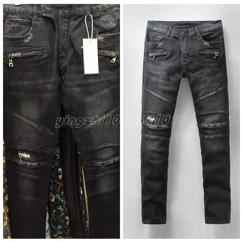 Designer Black Jeans For Men - Xtellar Jeans