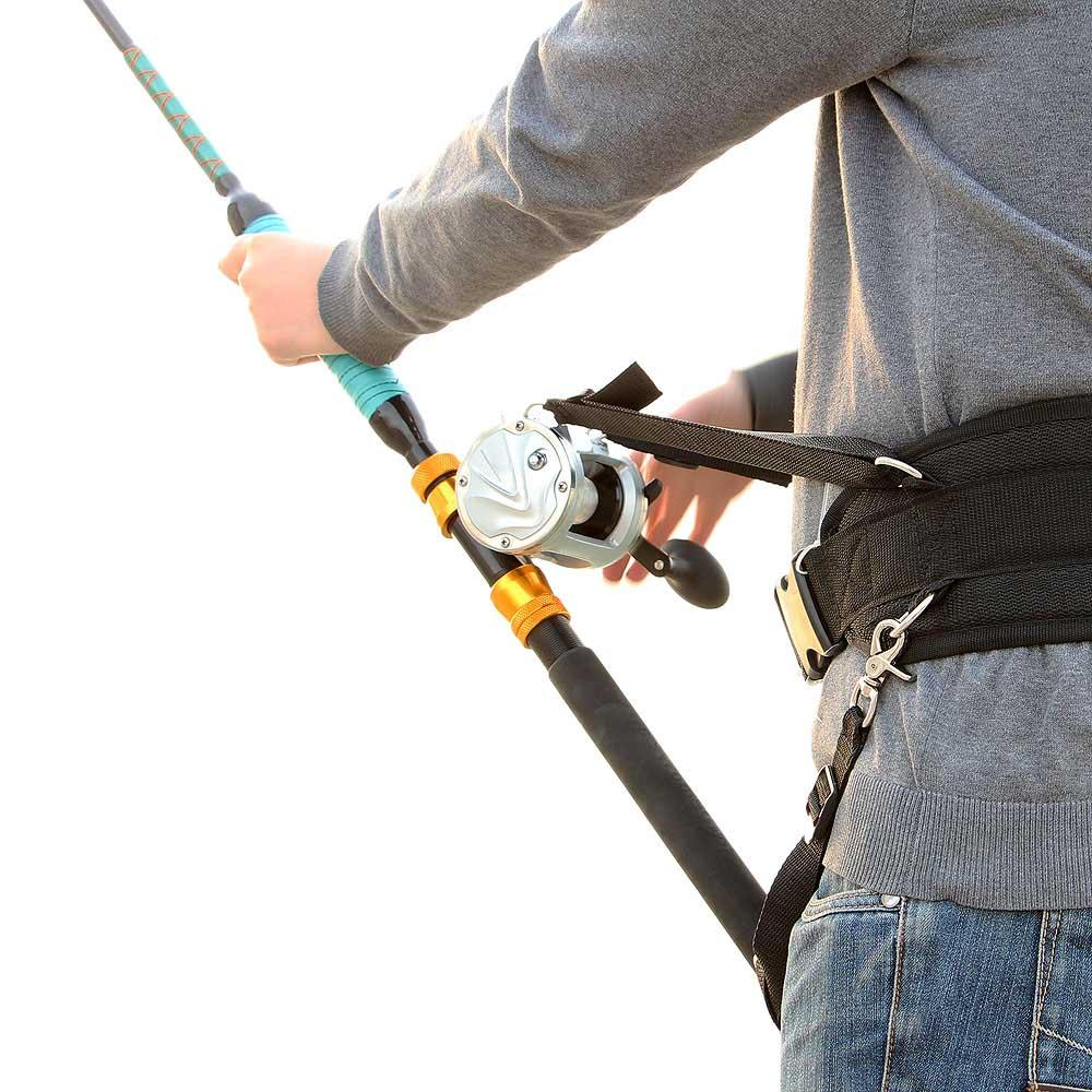 black ocean boat fishing rod stand fishing rods belt holder big, Reel Combo