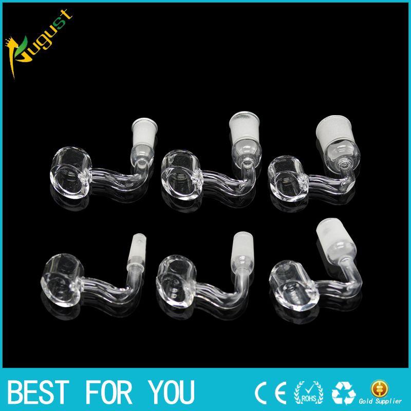 online cheap 4mm thick smoking dogo high quality domeless female quartz banger nail quartz nail. Black Bedroom Furniture Sets. Home Design Ideas