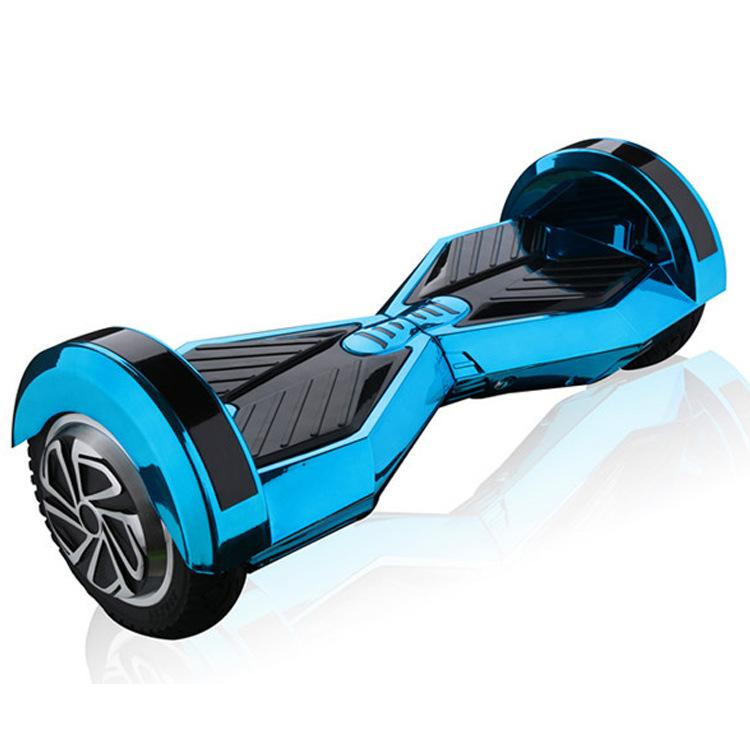 2016 8 inch led hover board chrome bluetooth hoverboard. Black Bedroom Furniture Sets. Home Design Ideas