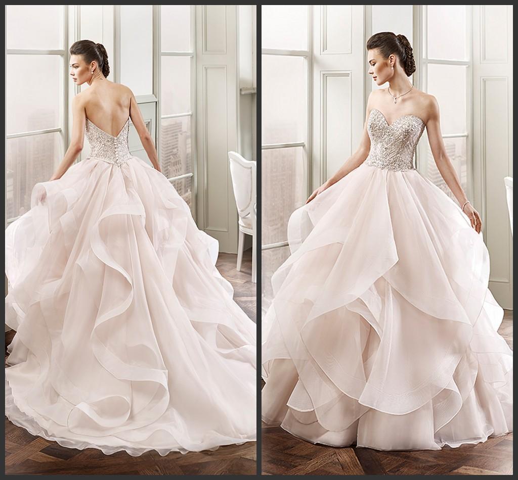 Eddy K Ball Gown Wedding Dresses 2016 Sweetheart