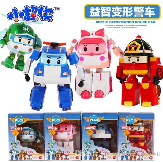 Christmas Robot Toys : Poli robot christmas toys robocar toy korea