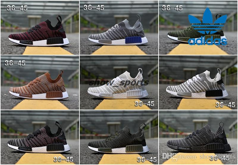 adidas NMD R1 Nomad Boost Suede & Mesh Men's Running Shoes