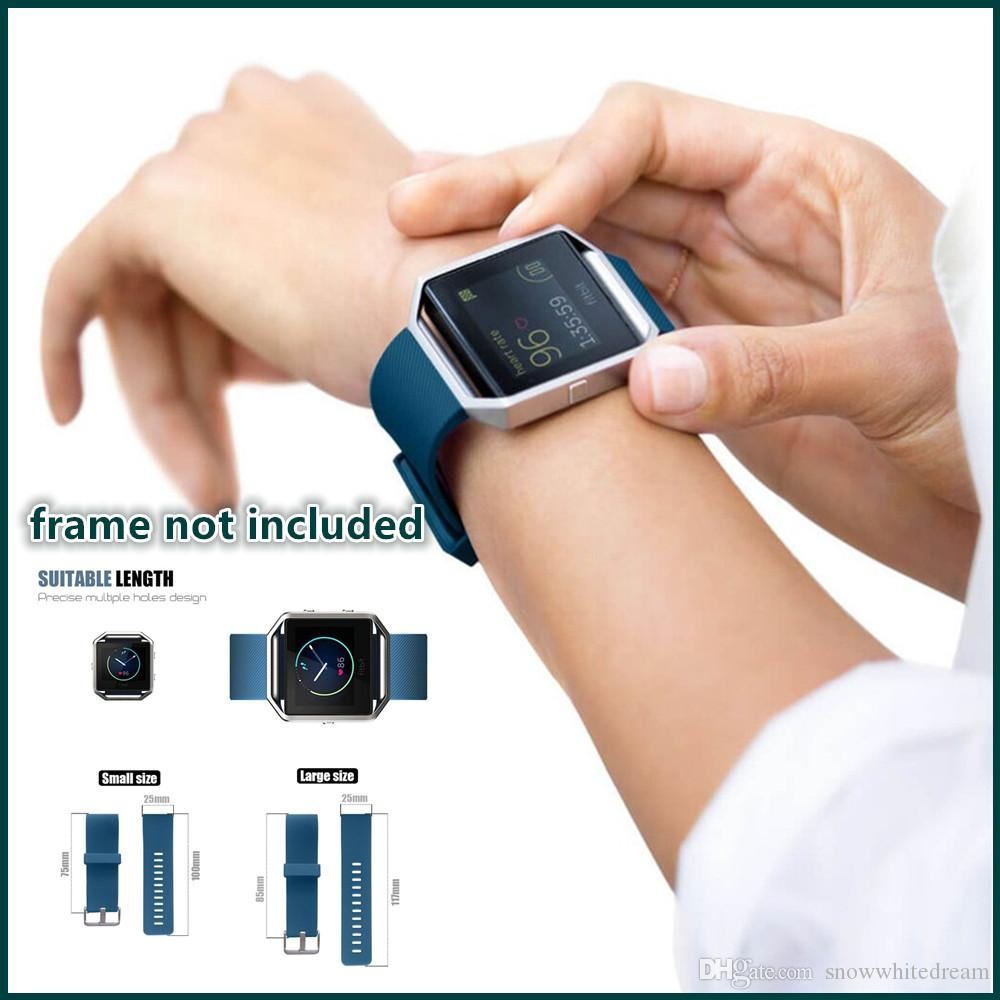 Fitbit Blaze Sport Silicone Watch Bands Wrist Strap For Fitbit ...