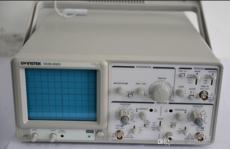 Oscilloscope Y Axis : Gw instek analog oscilloscope gds channel