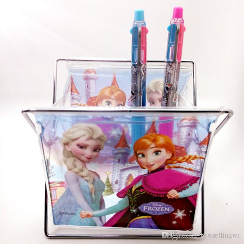 Frozen Storage Baskets Box Clothing Toys Make Up Debris Bags Containers  Foldable Boxes Organization Two Size Free Shipping - Frozen Storage Baskets Box Clothing Toys Make Up Debris Bags