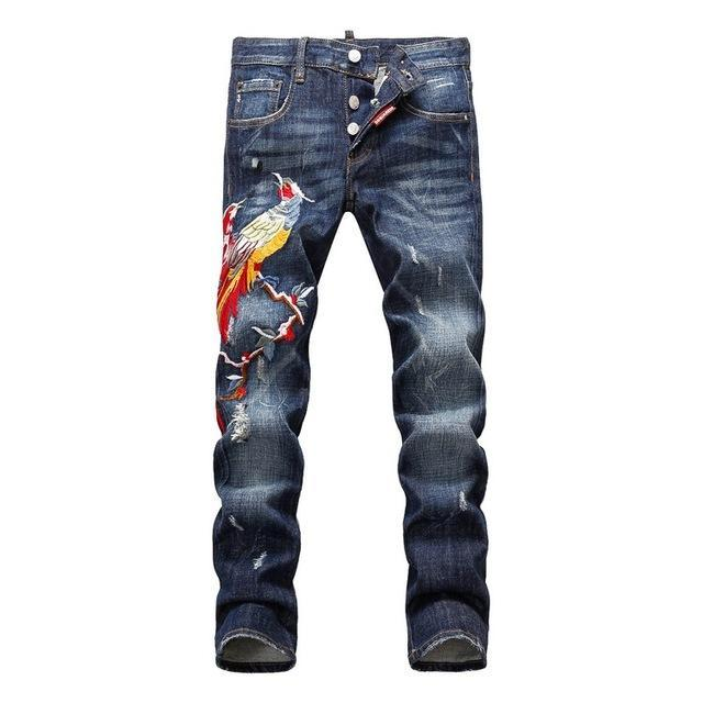 Online Cheap Italian Luxury Famous Brand Jeans For Men High ...