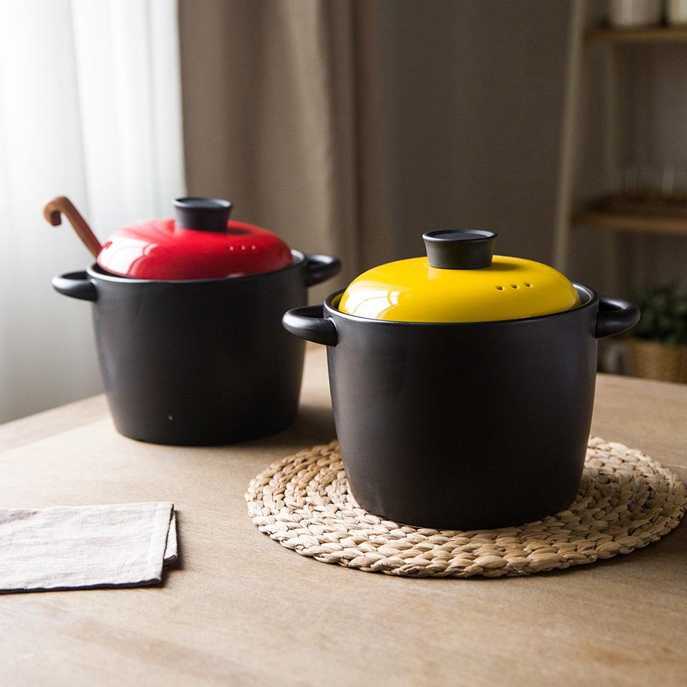 WholesaleModern Housewife Color Series Ceramic Casserole Soup Pot