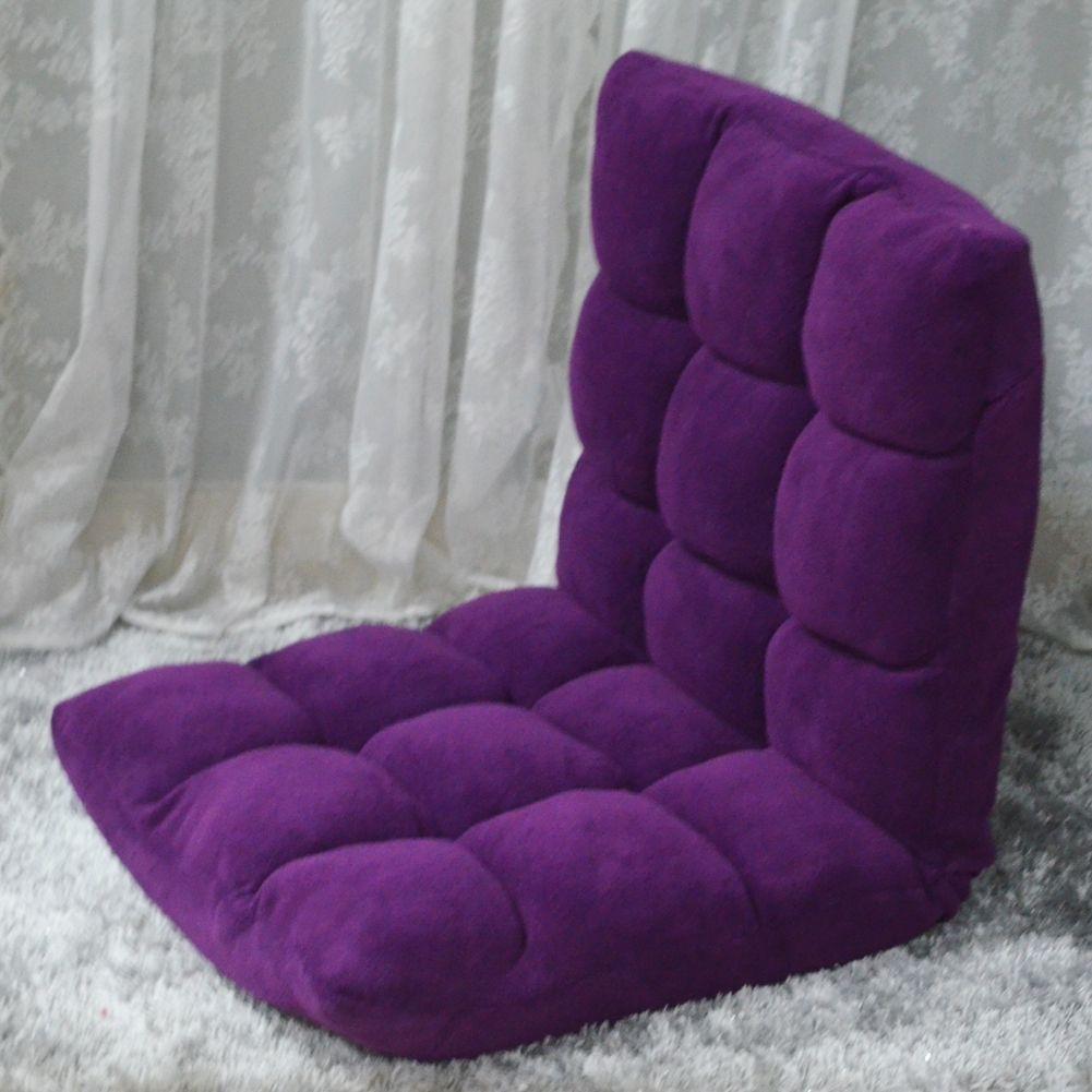 Lila folding sofa bodenstuhl entspannen lounge lazy man boy sofa ...