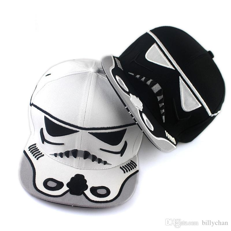 Star Wars Snapbacks Caps Star Wars Chapeaux La force réveille Darth Vader Stormt