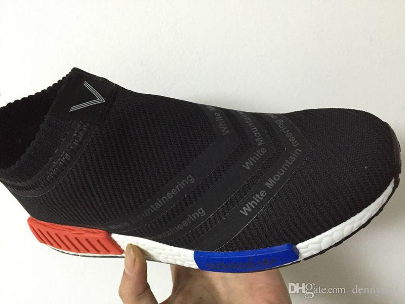 adidas NMD City Sock Primeknit White Grey
