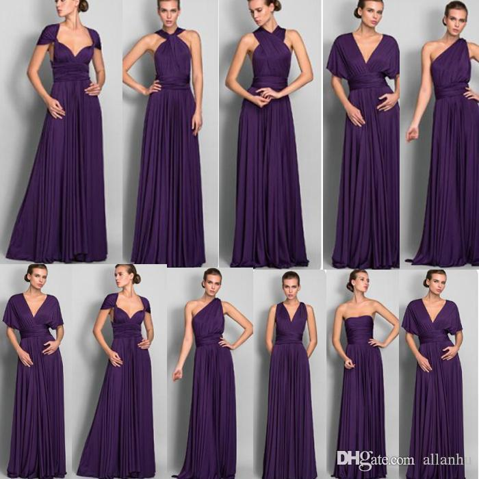 Country Style Cheap Bridesmaid Dresses Sheer Neck Chiffon Backless ...