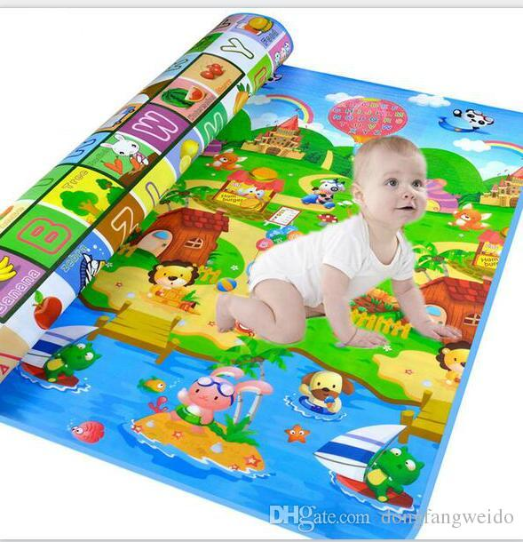 Authorized Authentic Maboshi Baby Play Mat Doulble Site