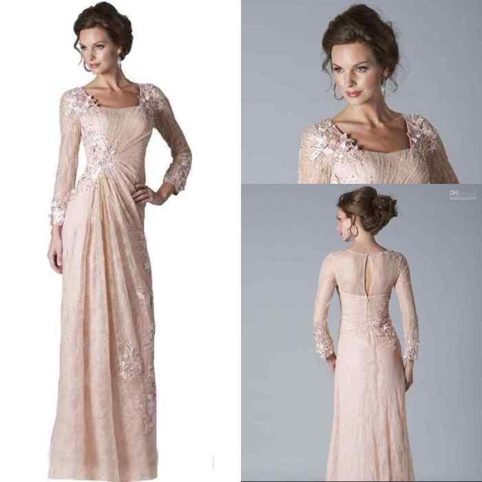 Mother Of The Bride Dresses Blush Pink 28
