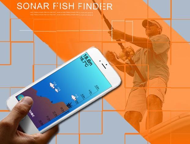 ecoscandaglio sonar sensor depth finder echo-sounder fish tool, Fish Finder