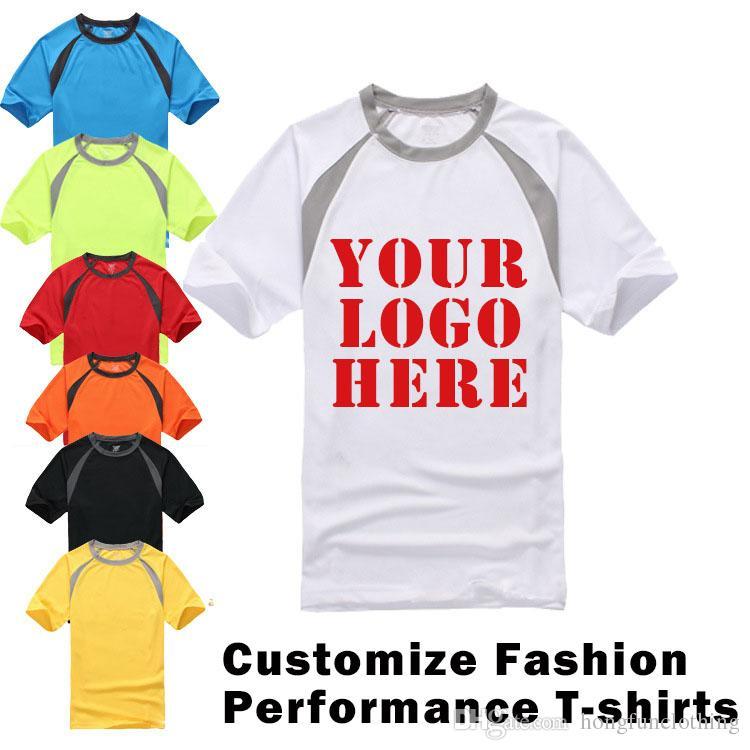 Custom Screen Printed Mens Dry Fit Performance Short