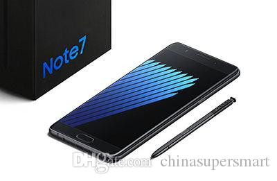 Note 7 Smartphone N7 Dual Sim Card Octa Core 3G RAM 64GB ROM 64Bit fake 4G LTE Android 6.0 Note7 Cell phones