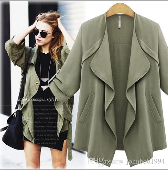 Women Long Cardigan Coat 2016 Hot Sale Autumn Winter Fashion Women ...