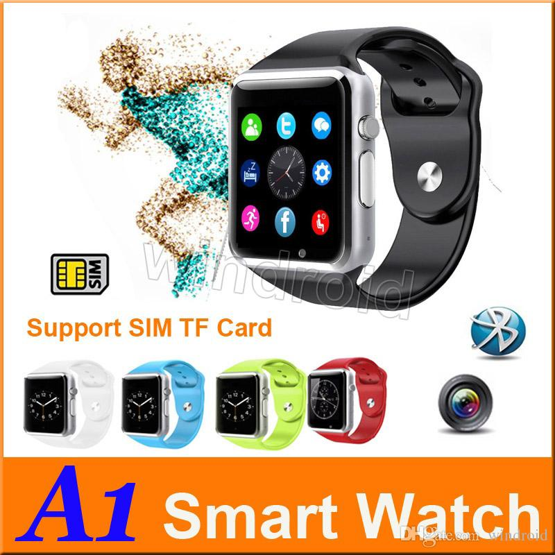 A1 montre Smart Watch Bluetooth Wearable étanches Montres intelligentes pour 30p