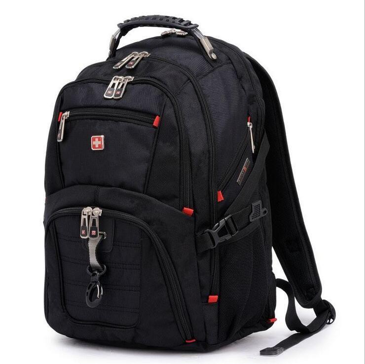 2015 New travel shoulder backpack men's bag swissgear army knife backpacks swiss gear nylon waterproof backpacks freeshipping
