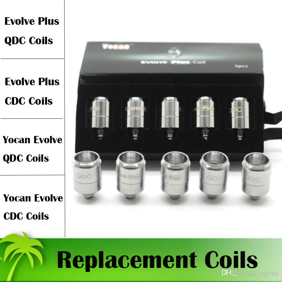 Authentic Bobines de remplacement Yocan Pour Yocan Evolve Yocan Evolve Kit plus