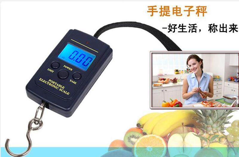 Best 40kg x 10g portable mini electronic digital scale for Best digital fish scale