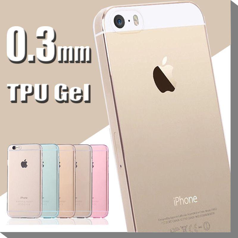 0.3mm Ultra Thin Slim Soft Silicone Crystal Clear Transparent TPU Case Cover iPhone 7 6 6S Plus Samsung E5 E7 C5 C7 J5 J7 2016 MOQ:5