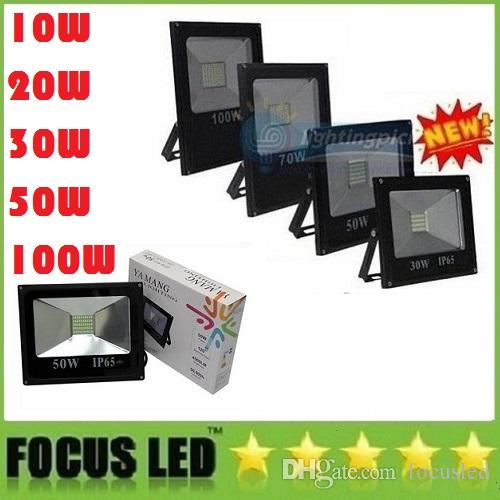 AC 85-265V Led Floodlight 85-265V 10W 20W 30W 50W 70W 100W Paysage LED Led Outdo