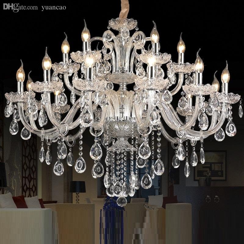 Modern Chandelier Wholesale: Wholesale 15 Arms Crystal Chandelier Light Luxury Modern
