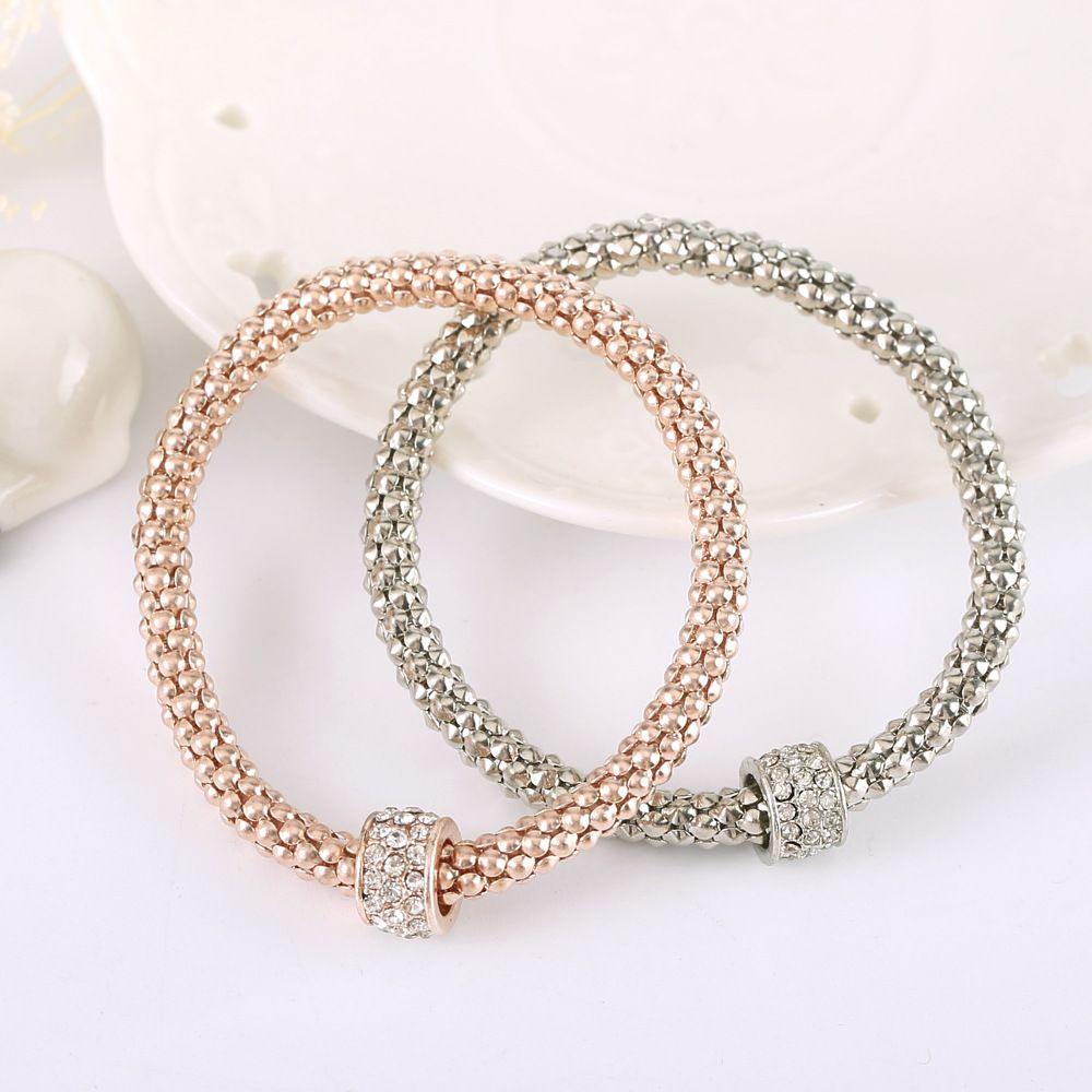 Wholesale 18k Rose Gold Bracelet For Pandora Charm Jewelry