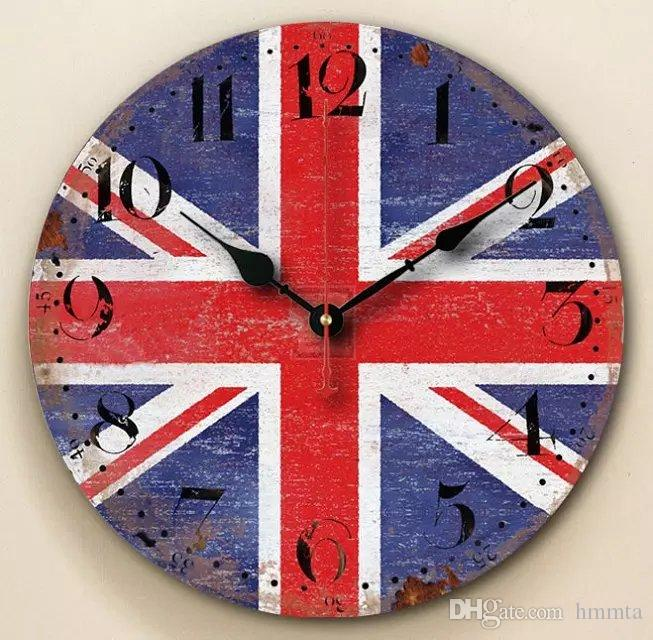 Fashion decorative large wall clock new horloge murale quality european style - Horloge murale decorative ...