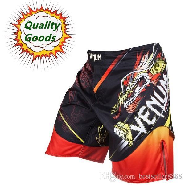 """Quality goods--MMA short """"TATSU KING""""LYOTO MACHIDA Fight short--BLACK/ORANGE"""